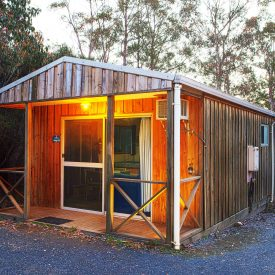 Cradle Mountain Spa Cabin Exterior 2 HDR