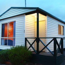 Mornington Superior Cottage 5 Berth Dusk Exterior HDR copy